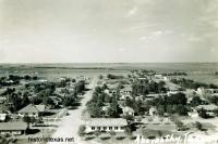 Abernathy, Texas Birds Eye View 1950s