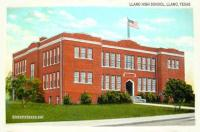 Llano High School, Llano, Texas 1930s-1940s