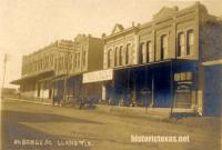 Bridge Street, Llano, Texas 1907