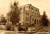 Upshur County Court House, Gilmer, Texas 1950s