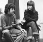 FILE - In this Dec. 26, 1972 file photo, actress Jane Fonda, right, and Tom Hayden, one of the founders of SDS, talk at the home of a friend in London, after their arrival from Paris. Hayden, the famed 1960s anti-war activist who moved beyond his notoriety as a Chicago 8 defendant to become a California legislator, author and lecturer, has died at age 76. His wife, Barbara Williams, says Hayden died on Sunday, Oct. 23, 2016, in Santa Monica of a long illness. (AP Photo, File)
