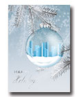 Blue City Ornament