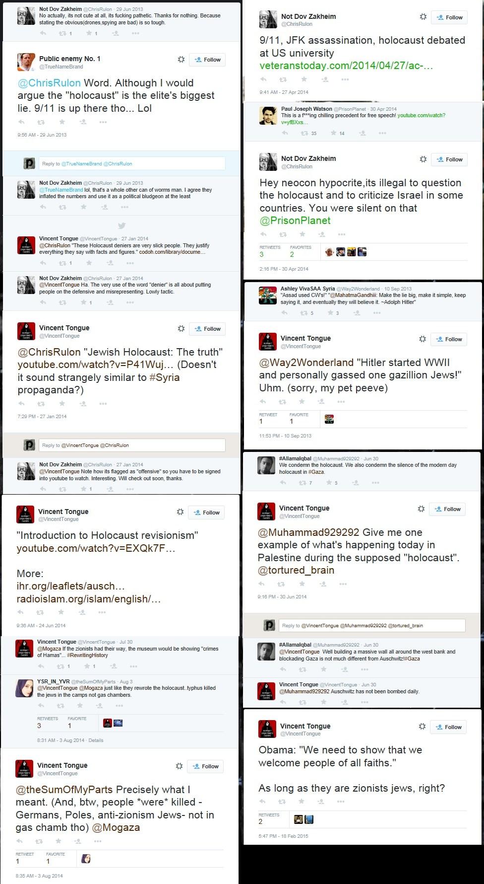 chris rulon anti semitic tweets