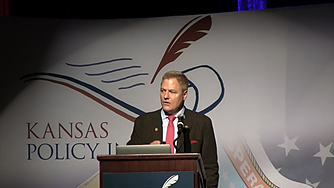 """Tom G. Palmer discusses """"Self Control or State Control"""" at the Kansas Policy Institute"""