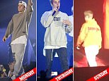 Picture Shows: Justin Bieber  October 17, 2016\n \n Justin Bieber performs the Birmingham leg of his Purpose World Tour at The Barcalycard Arena in Birmingham, UK.\n \n Non Exclusive\n WORLDWIDE RIGHTS\n Pictures by : FameFlynet UK © 2016\n Tel : +44 (0)20 3551 5049\n Email : info@fameflynet.uk.com