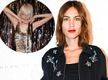 Mandatory Credit: Photo by Leandro Justen/BFA/REX/Shutterstock (5894685e)..Alexa Chung..Noon by Noor show, front row, Spring Summer 2017, New York Fashion Week, USA - 08 Sep 2016..