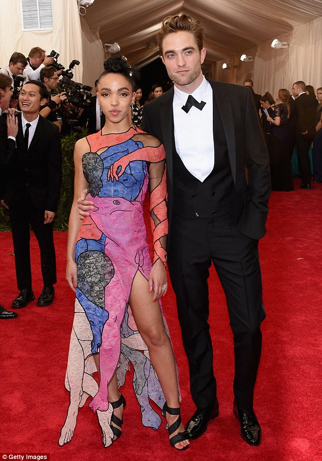 True love:The 28-year-old songstress, who is now engaged to Twilight star Robert Pattinson, spoke to ES Magazine about the relationship which she described as 'messed up' and 'addictive'