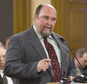 """FILE - In this 2015 file photo shows Rep. Joe Seiwert, R-Pretty. Seiwert has criticized a black performer's public protest by saying in a Facebook posting that she should go back """"home."""" The Kansas legislator confirmed the posting Tuesday, Oct. 25, 2016, in interviews with The Topeka Capital-Journal and Wichita Eagle. The Republican defended the posting as a comment on someone showing disrespect to the American flag. (Thad Allton/The Topeka Capital-Journal via AP, File)"""