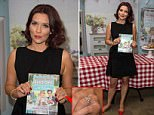 Candice Brown attends a book signing at Waterstones Piccadilly, London.