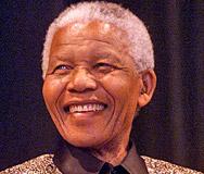 Нелсън Мандела на 91 години