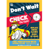 Fire Prevention Week Posters (2016)
