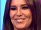 'Pregnant' Cheryl glows during TV appearance