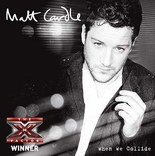 Winner: Matt's is hoping to bag the Christmas No.1 spot