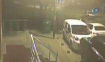Cinayet gibi kaza, güvenlik kamerasına yansıdı