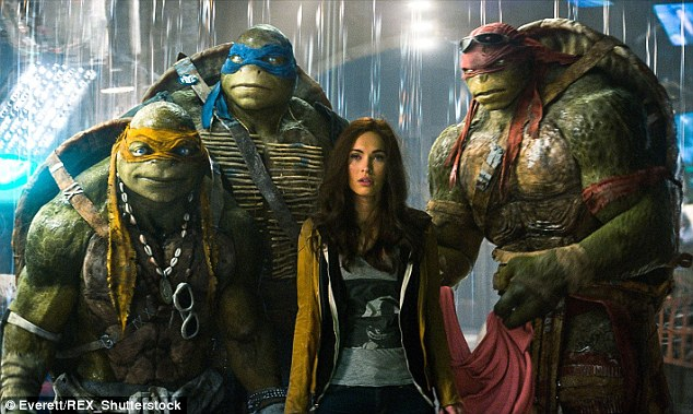 Reprising her role: TMNT 2 is set for release in June 2016.