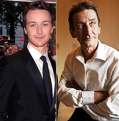 James McAvoy and his father James