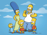 """This undated publicity photo released by Fox, shows, from left, from left, Maggie, Marge, Lisa, Homer and Bart  from the animated series, """"The Simpsons,"""" The Fox network has ordered the 29th and 30th seasons of ¿The Simpsons,¿ carrying it through the 2018-19 season.  (AP Photo/Fox)"""