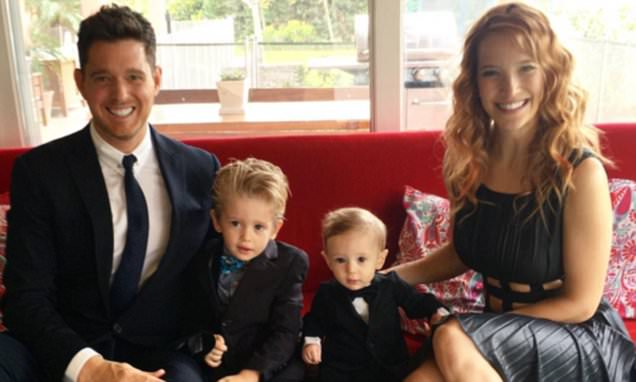 Michael Bublé and wife Luisana's eldest son Noah diagnosed with cancer