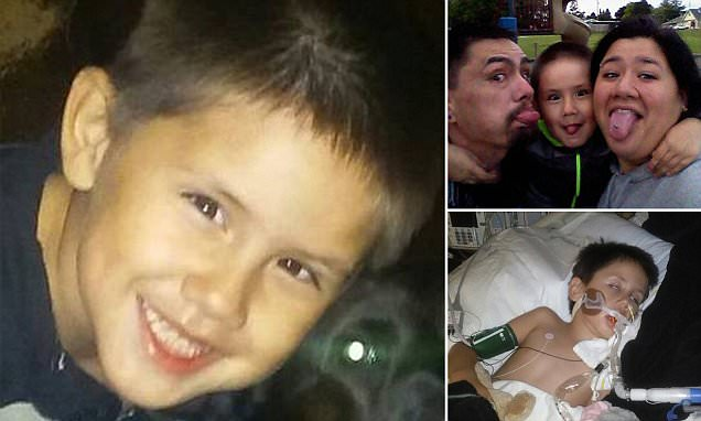 Boy dies two weeks after contracting polio-like disease that is sweeping the US
