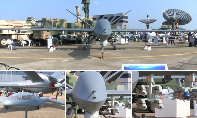 China unveils its most powerful drone bomber, which can fly for two days without