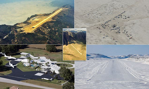 The world's most bizarre airports revealed