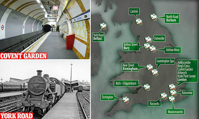 The UK's most haunted railway stations revealed from King's Cross to Carlisle