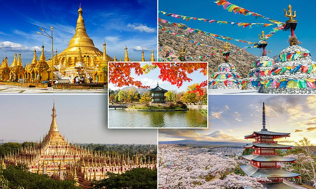The world's most beautiful pagodas revealed