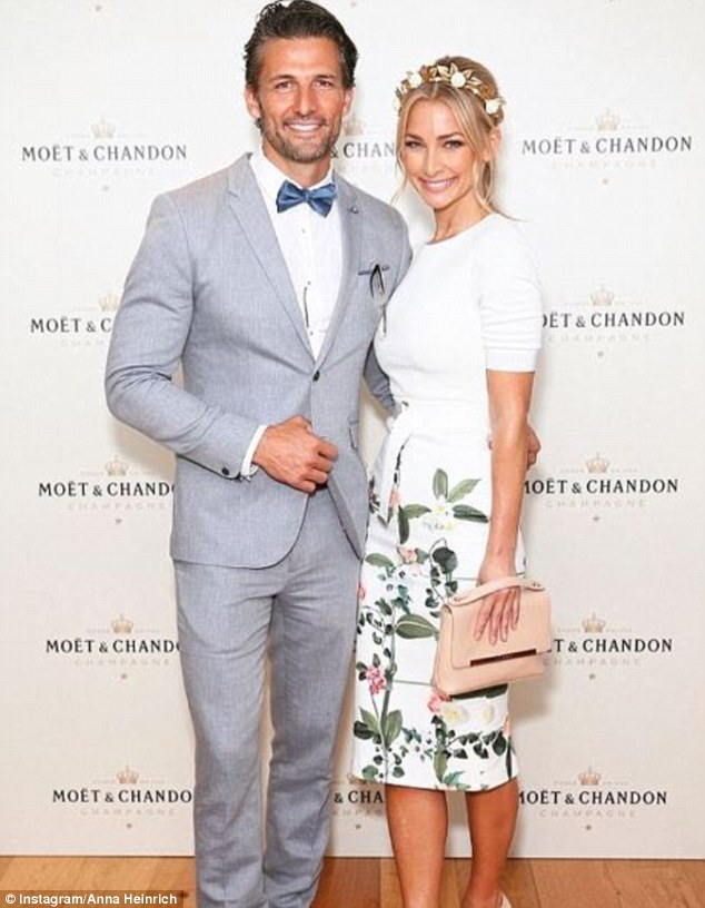 Mini vacation: Bachelor couple Anna and Tim Robards are holidaying on the Gold Coast, at the luxurious QT
