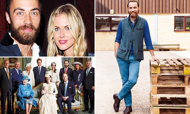 JAMES MIDDLETON EXCLUSIVE: Kate and Pippa's little brother on getting back with Donna,