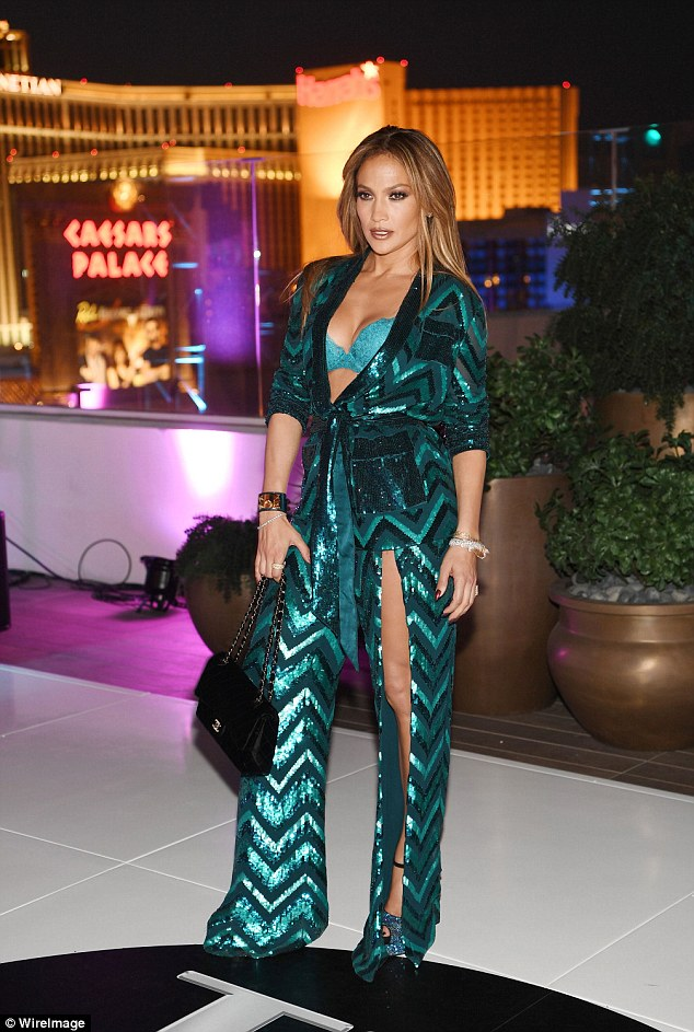 Making her big return: The curvy star will also return to her All I Have show in Las Vegas December (pictured in Las Vegas in July)