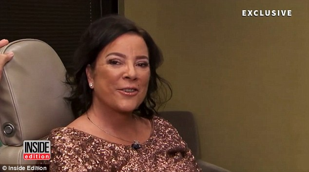 Glammed up like Kris! Karen told Inside Edition that she was pleased with the 'incredible' results