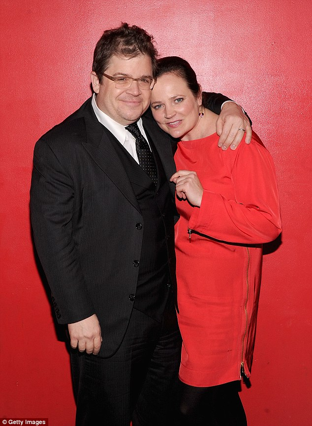 RIP: The 'Ratatouille' star's spouse of 11 years passed away in her sleep at their home in Los Angeles six months ago (pictured December 2011)