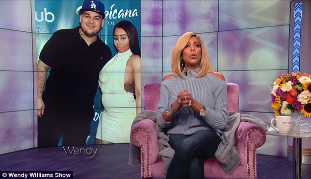 Nosey: This is not the first time Wendy Williams has chimed in on the couple's affair