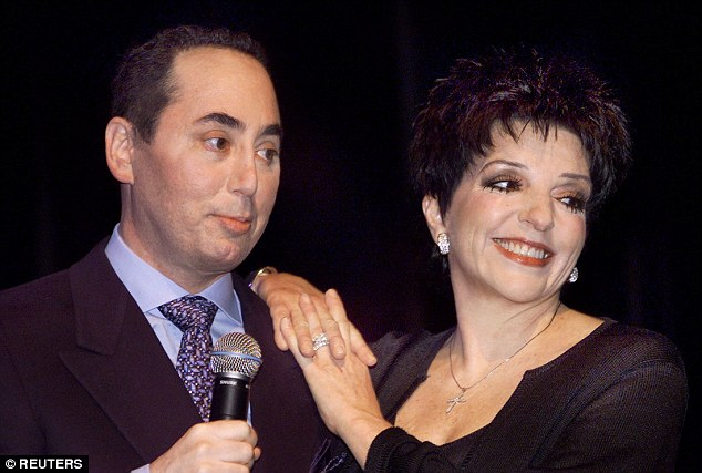 Pictured: Gest with Liza Minelli in 2002, the pair were married for five years and endured a troubled relationship