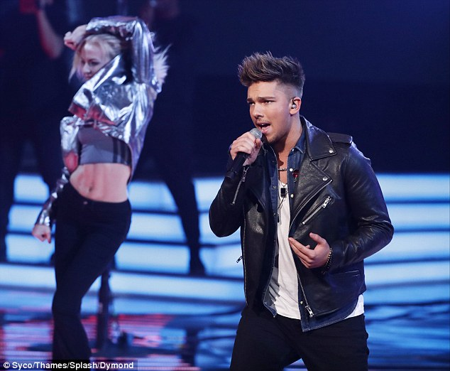 'You didn't take yourself too seriously, I loved it,' Simon said of his performance