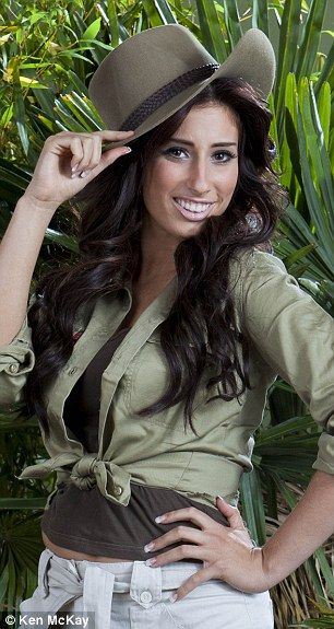 Jungle fun: Stacey Solomon is also on the lineup of presenters on the I'm A Celeb spin-off