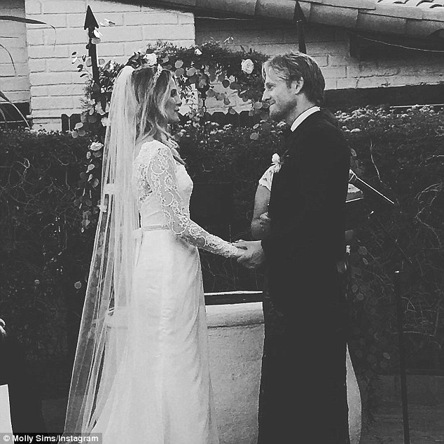 'Happily Ever After': She also gave her followers a look at the couple of the hour