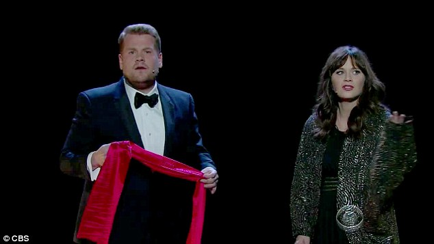 New projects:More recently the comedian has started to create music videos with his guests, parodying a classic Lionel Richie and Diana Ross hit with Zooey Deschanel last week