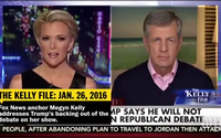 Donald Trump and Megyn Kelly's feud
