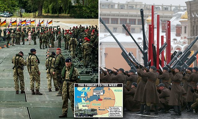 NATO puts troops on 'high alert' in readiness for a confrontation with Russia