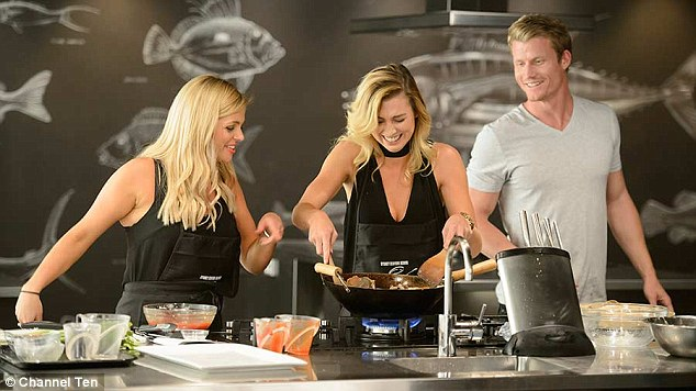Food for thought: Many of the women from The Bachelor gain weight after eating too much in the mansion