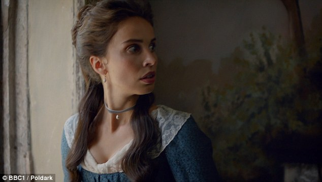 Elizabeth (Heida Reed) dropped a huge bombshell at the end of series two - that she was pregnant with a baby - and she will have to face the consequences of spending the night together with Ross