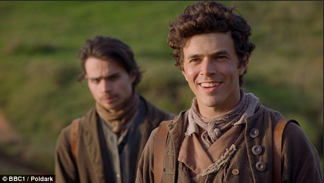 Ross will be fighting for Demelza's attention after her long-lost brothersDrake (Harry Richardson) and Sam (Tom York) turn up in Cornwall