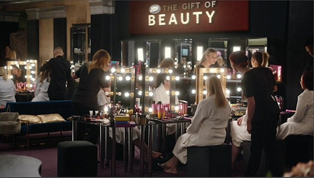 The video sees women from essential services getting the Hollywood makeover treatment