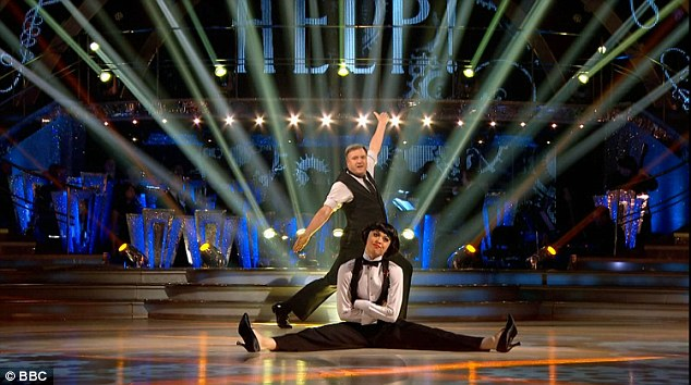 'You're actually improving!' Another surprise came in the form of Ed Balls and Katya Jones, who performed a fantastic Quickstep to Help! by The Beatles and earned praise from Craig