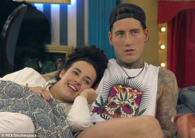 Former beau:The actress will give birth to her first child in the new year after falling pregnant during a short lived romance with Irish model Jeremy McConnell, who she met while appearing in Celebrity Big Brother
