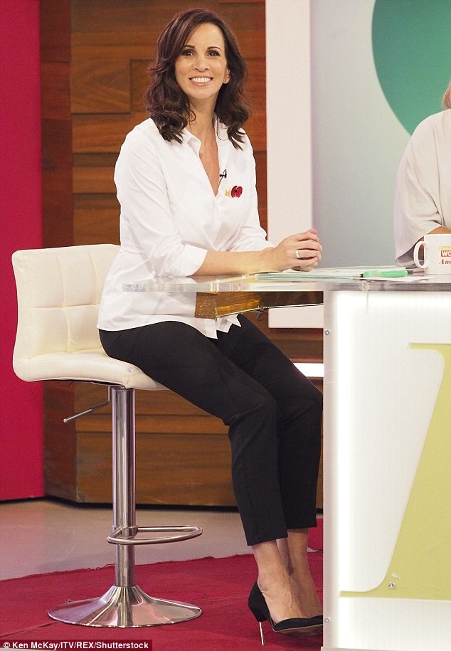 Opening up:Andrea McLean has shared her heartbreak at never being able to have children with partner Nick Feeney after returning to Loose Women following a hysterectomy