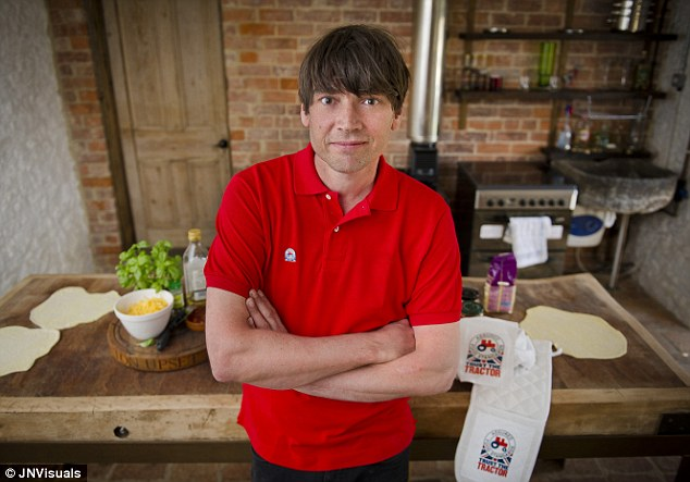 Alex James, pictured, admitted he had not washed his hair for a decade until last week