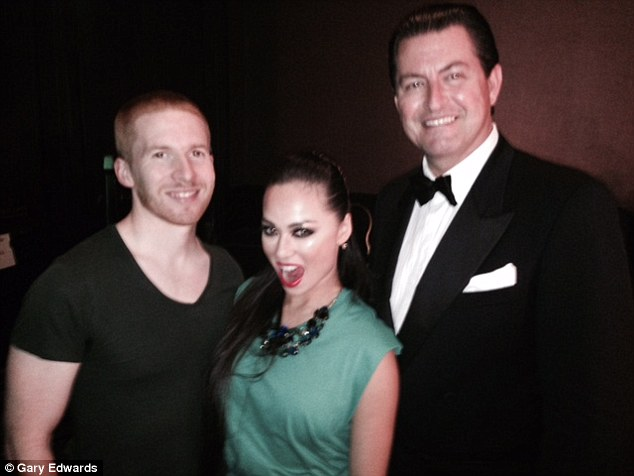 Gary is good friends with this year's newest Strictly professional Katya Jones, pictured here along with her husband Neil Jones, who has been a stand-in on the series this year