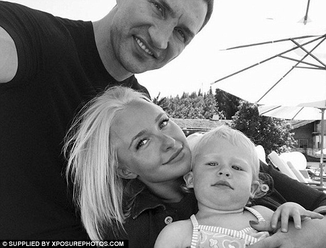 'It does heal': The 27-year-old star has suffered from postpartum depression since the birth of her daughter Kaya in December 2014 who she welcomed with fiancé Wladimir Klitschko